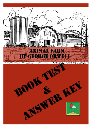 animal farm george orwell comprehension questions answer key by languageartslab teaching. Black Bedroom Furniture Sets. Home Design Ideas