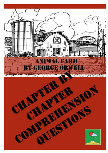 ANIMAL FARM - George Orwell ~ Comprehension Questions + ANSWER KEY