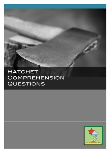 Hatchet - Chapter-by-chapter Comprehension Questions + ANSWER KEY