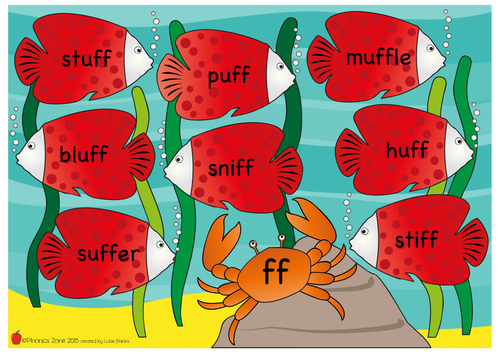 Year One Fishy Phonics Posters