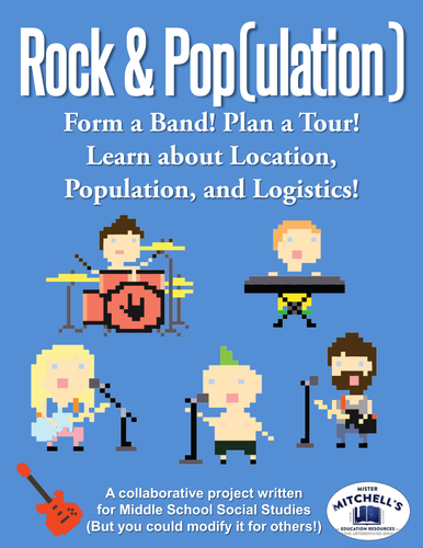 Rock & Population: Form a Band! Location, Population & Logistics