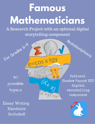 essay mathematicians