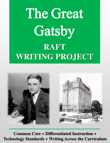 The Great Gatsby RAFT Writing Project + Rubric