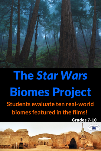 Identify Biomes with six Star Wars Movies - Project & Rubric