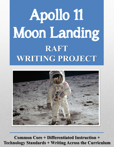 Apollo 11 Moon Landing Writing Project + Rubric