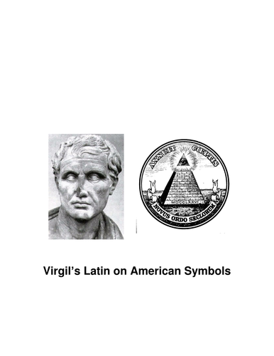 Virgil's Latin on American Symbols