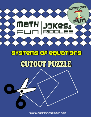 Factoring Polynomials Cutout Puzzle by CommonCoreFun