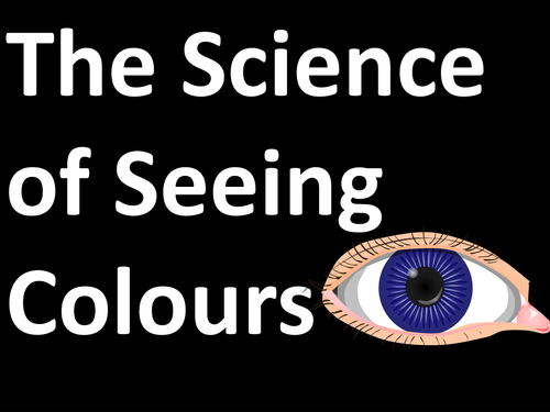 The Science of Seeing Colours Assembly/ Starter