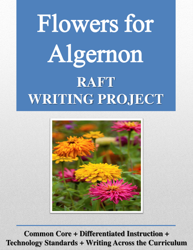 Flowers for Algernon RAFT Writing Project + Rubric
