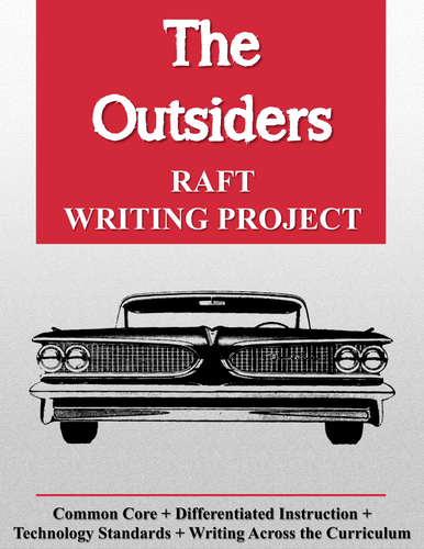 The Outsiders RAFT Writing Project + Rubric