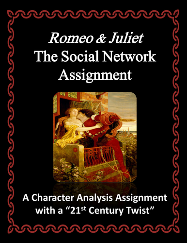 romeo and juliet assignments
