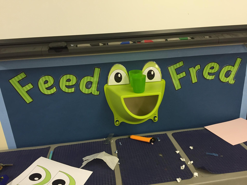 3D Frog Display Eyes (e.g. Fred Frog, Read Write Inc.)