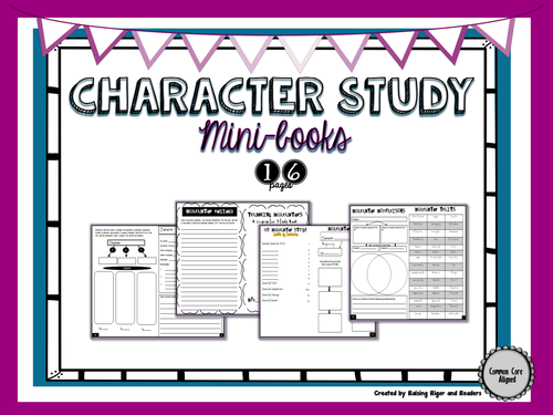 Character Study Book