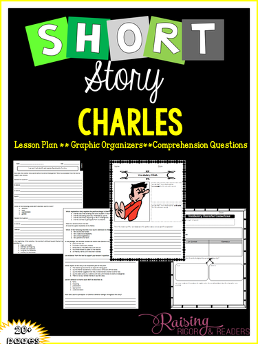 "Short Story Lesson Plan - ""Charles"""