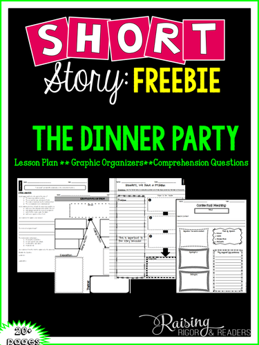 FREEBIE - The Dinner Party