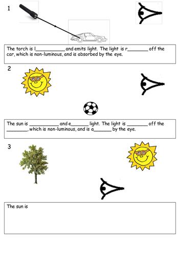 Introduction to light KS3