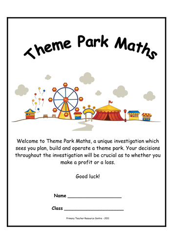 Theme park maths investigations by resourcecentre teaching theme park maths investigations by resourcecentre teaching resources tes fandeluxe Images