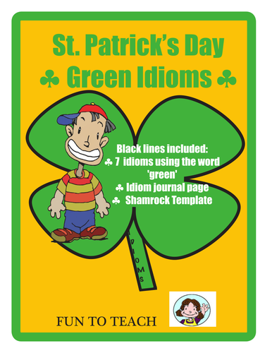 St Patrick's Day Green Idioms