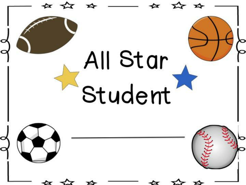 All Star Awards Packet