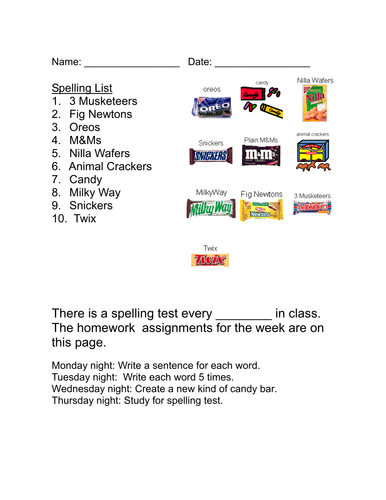 Life Skills Vocabulary: At the Grocery Store-Candy & Cookies