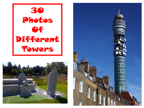 30 Tower Photos PowerPoint Presentation