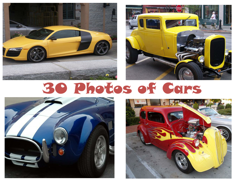 30 Photos Of Cars PowerPoint Presentation