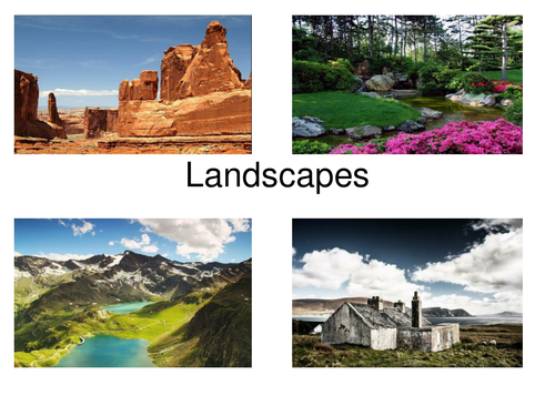 37 Fabulous Landscapes For Creative Writing And Literacy Prompts
