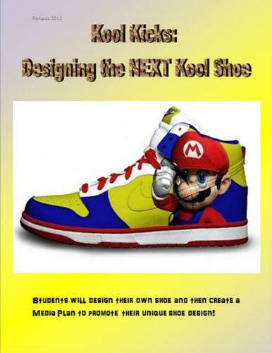 Design Your Own Shoe - Art + Media Literacy