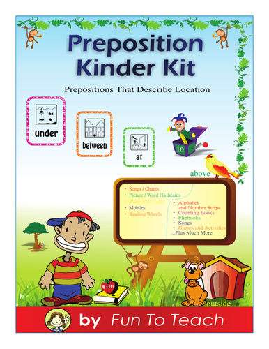 Prepositions Kindergartenst Grade By Loriwolfe Teaching - Next to preposition