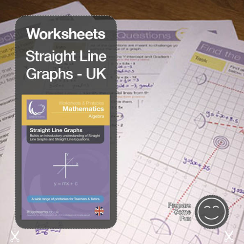 Straight Line Graphs & Equations | Printables & Worksheets