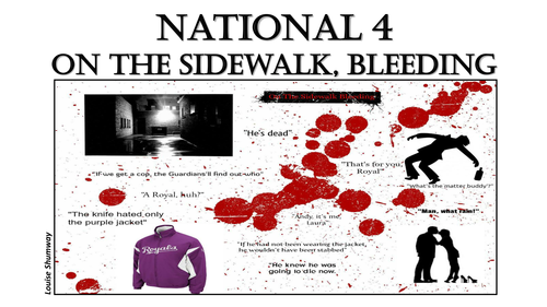 on the sidewalk bleeding powerpoint by hollieshumway teaching on the sidewalk bleeding powerpoint by hollieshumway teaching resources tes