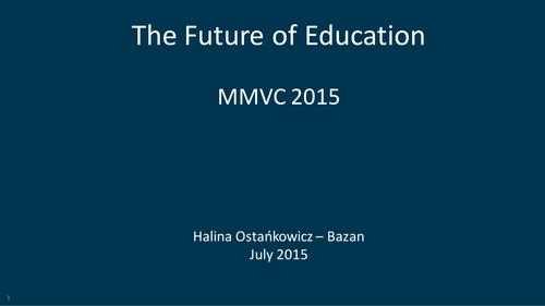 The Future of Education