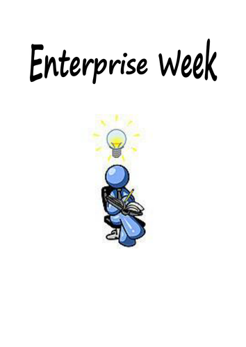 Enterprise week booklet - Adaptable for all ages