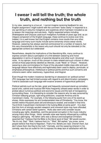 Higher english discursive essay help