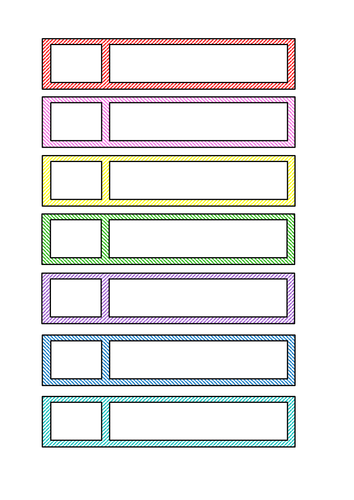 Draw labels for children to write own name