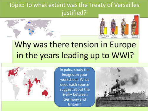 WW1 and the Treaty of Versailles