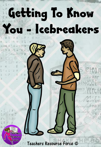 Getting to know you: ice breakers