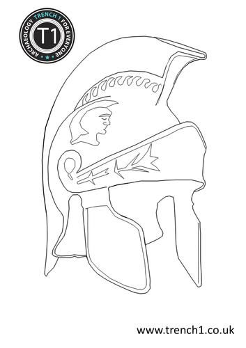 How to make your own Roman helmet! by Pauljamesnolan