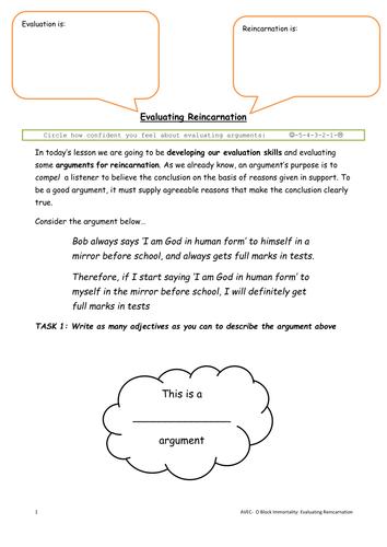 Evaluating Reincarnation