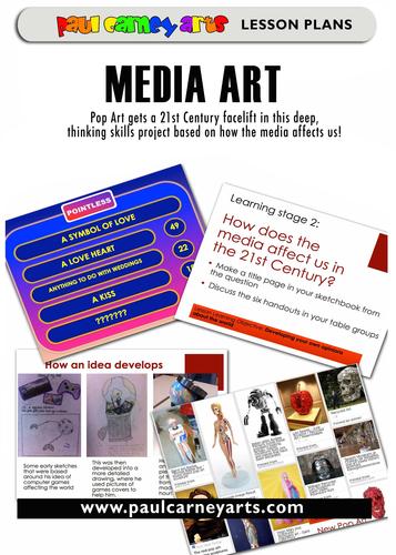 Media Pop Art