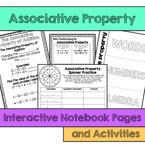 Addition Worksheets Associative Property Of Addition Worksheets – Associative Property of Multiplication Worksheet