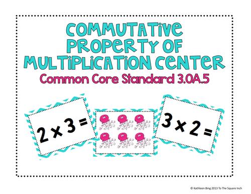 Commutative Multiplication Worksheets printable property – Commutative Multiplication Worksheets