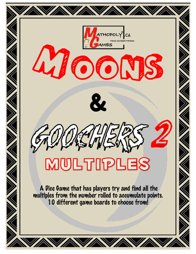 Moon N Goochers 2 Multiples - Multiplication