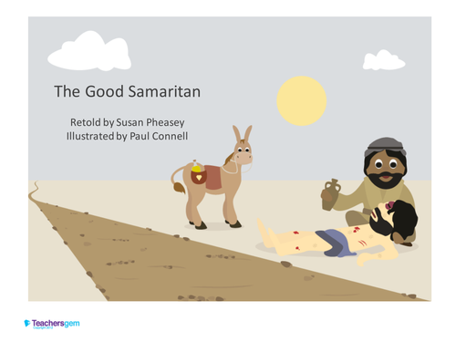 Good Samaritan Story And Role Play Masks By Teachersgem