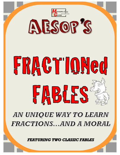 Fraction'ed Fables - Learn Fractions in a Unique Way