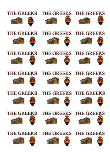 Subject Greek Topic Labels