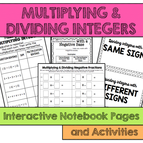 Free Worksheets Multiplication Of Integers Worksheets Pdf Free – Multiplying Integers Horizontal Worksheet