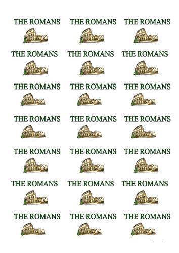 Romans Topic Labels