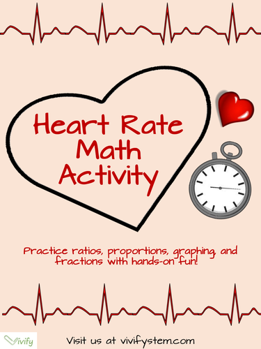heart rate math ratios proportions activity with stem career connection by vivify teaching. Black Bedroom Furniture Sets. Home Design Ideas