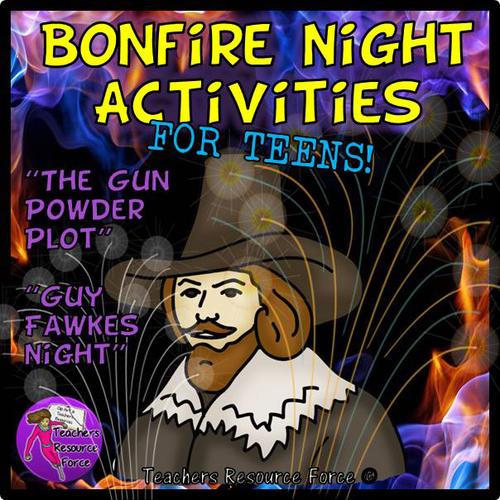 Bonfire Night / Guy Fawkes / Gun Powder Plot Activities
